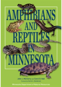 Obálka knihy  Amphibians and Reptiles in Minnesota od Moriarty John J., ISBN:  9780816690916