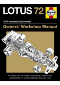 Obálka knihy  Lotus 72 Owner's Manual od Wagstaff Ian, ISBN:  9780857338471