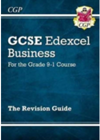 Obálka knihy  New GCSE Business Edexcel Revision Guide - For the Grade 9-1 Course od CGP Books, ISBN:  9781782946908