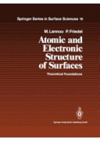 Obálka knihy  Atomic and Electronic Structure of Surfaces od Lannoo Michel, ISBN:  9783642080944