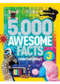 Obálka knihy  5,000 Awesome Facts od National Geographic Kids, ISBN:  9781426324529