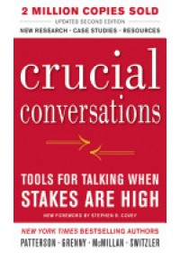 Obálka knihy  Crucial Conversations Tools for Talking When Stakes are High od Patterson Kerry, ISBN:  9780071771320
