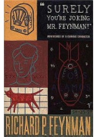 "Obálka knihy  ""Surely You're Joking, Mr. Feynman!"" od Feynman Richard P., ISBN:  9780099173311"