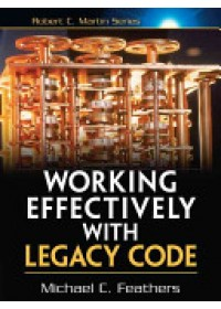 Obálka knihy  Working Effectively with Legacy Code od Feathers Michael, ISBN:  9780131177055