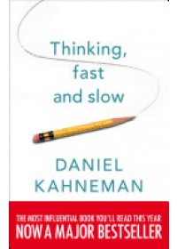 Obálka knihy  Thinking, Fast and Slow od , ISBN:  9780141033570