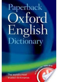 Obálka knihy  Paperback Oxford English Dictionary od Oxford Dictionaries, ISBN:  9780199640942