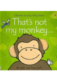 Obálka knihy  That's Not My Monkey od Watt Fiona, ISBN:  9780746093368