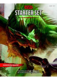 Obálka knihy  Dungeons & Dragons Starter Box (D&D Boxed Game) od Wizards of the Coast, ISBN:  9780786965595