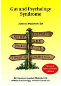 Obálka knihy  Gut and Psychology Syndrome od Campbell-McBride Dr Natasha MD MMedSci (Neurology) MMedSci (Nutrition), ISBN:  9780954852023