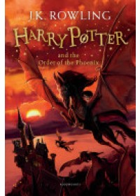 Obálka knihy  Harry Potter and the Order of the Phoenix od Rowling J. K., ISBN:  9781408855690