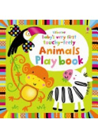 Obálka knihy  Baby's Very First Touchy-feely Animals Play Book od Watt Fiona, ISBN:  9781409549727