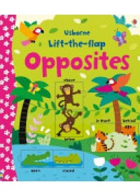 Obálka knihy  Lift-the-Flap Opposites od Brooks Felicity, ISBN:  9781409582588