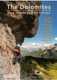 Obálka knihy  Dolomites od Rushforth James, ISBN:  9781873341971