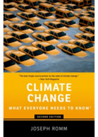 Obálka knihy  Climate Change od Romm Joseph (Senior Fellow Center for American Progress), ISBN:  9780190866105