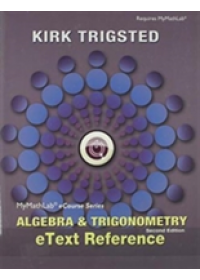 Obálka knihy  eText Reference for Trigsted Algebra & Trigonometry od Trigsted Kirk, ISBN:  9780321869791