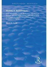 Obálka knihy  History of Architecture From the Earliest Times od Tuthill L. C., ISBN:  9780367179953