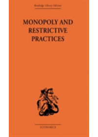 Obálka knihy  Monopoly and Restrictive Practices od Allen G. C., ISBN:  9780415607339