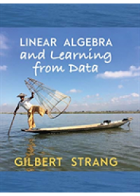 Obálka knihy  Linear Algebra and Learning from Data od Strang Gilbert (Massachusetts Institute of Technology), ISBN:  9780692196380