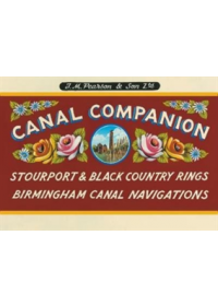 Obálka knihy  Pearson's Canal Companion - Stourport Ring & Black Country Rings Birmingham Canal Navigations od Pearson Michael, ISBN:  9780992849252