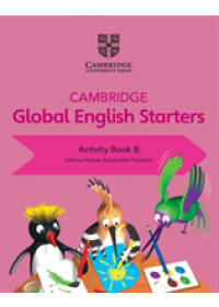 Obálka knihy  Cambridge Global English Starters od Harper Kathryn, ISBN:  9781108700078