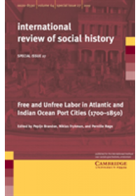 Obálka knihy  Free and Unfree Labor in Atlantic and Indian Ocean Port Cities (1700-1850) od , ISBN:  9781108708562