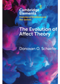Obálka knihy  Elements in Histories of Emotions and the Senses od Schaefer Donovan O. (University of Pennsylvania), ISBN:  9781108732116