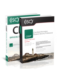 Obálka knihy  (ISC)2 CISSP Certified Information Systems Security Professional Official Study Guide, 8e & CISSP Official (ISC)2 Practice Tests, 2e od Chapple Mike, ISBN:  9781119523260