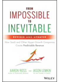 Obálka knihy  From Impossible to Inevitable od Ross Aaron, ISBN:  9781119531692