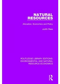 Obálka knihy  Natural Resources od Rees Judith, ISBN:  9781138081635