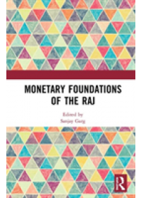 Obálka knihy  Monetary Foundations of the Raj od , ISBN:  9781138280625