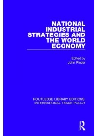 Obálka knihy  National Industrial Strategies and the World Economy od , ISBN:  9781138299429