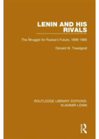 Obálka knihy  Lenin and his Rivals od Treadgold Donald W., ISBN:  9781138636859
