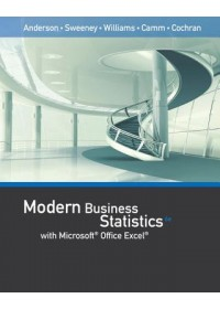 Obálka knihy  Modern Business Statistics with Microsoft Office Excel (with XLSTAT Education Edition Printed Access Card) od Cochran James, ISBN:  9781337115186