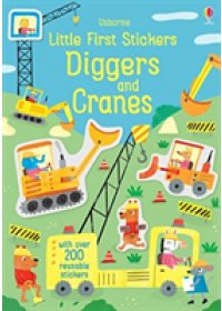 Obálka knihy  Little First Stickers Diggers and Cranes od Watson Hannah, ISBN:  9781474952255