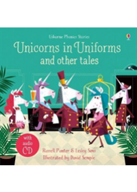 Obálka knihy  Unicorns in Uniforms and Other Tales + CD od Punter Russell, ISBN:  9781474969970