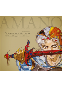 Obálka knihy  Yoshitaka Amano: The Illustrated Biography-beyond The Fantasy od Gorges Florent, ISBN:  9781506707532