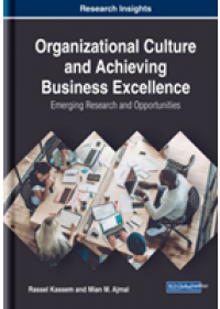 Obálka knihy  Organizational Culture and Achieving Business Excellence od Kassem Rassel, ISBN:  9781522584131