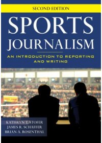 Obálka knihy  Sports Journalism od Stofer Kathryn T., ISBN:  9781538117859