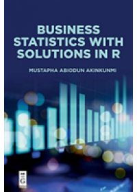 Obálka knihy  Business Statistics with Solutions in R od Akinkunmi Mustapha Abiodun, ISBN:  9781547417469