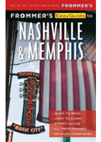 Obálka knihy  Frommer's EasyGuide to Nashville and Memphis od Brantley Ashley, ISBN:  9781628874440