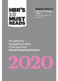 Obálka knihy  HBR's 10 Must Reads 2020 od Review Harvard Business, ISBN:  9781633698123