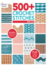 Obálka knihy  500+ Crochet Stitches with CD od Crochet Annie's, ISBN:  9781640250994
