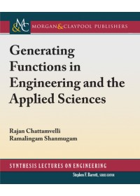 Obálka knihy  Generating Functions in Engineering and the Applied Sciences od Chattamvelli Rajan, ISBN:  9781681736389