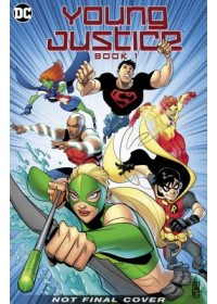Obálka knihy  Young Justice: The Animated Series Book One od Baltazar Art, ISBN:  9781779501417