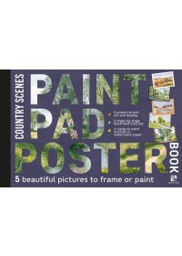 Obálka knihy  Paint Pad Poster Book: Country Scenes od Various, ISBN:  9781782217565
