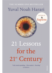 Obálka knihy  21 Lessons for the 21st Century od Harari Yuval Noah, ISBN:  9781784708283