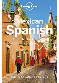 Obálka knihy  Lonely Planet Mexican Spanish Phrasebook & Dictionary od Lonely Planet, ISBN:  9781786576019