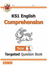 Obálka knihy  New KS1 English Targeted Question Book: Year 1 Comprehension - Book 2 od Books CGP, ISBN:  9781789084344