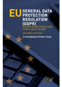 Obálka knihy  Eu General Data Protection Regulation (Gdpr) od Privacy Team It Governance, ISBN:  9781849289450