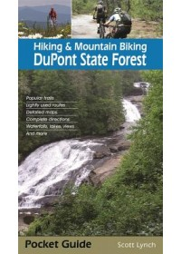 Obálka knihy  Hiking & Mountain Biking DuPont State Forest od Lynch Scott, ISBN:  9781889596334